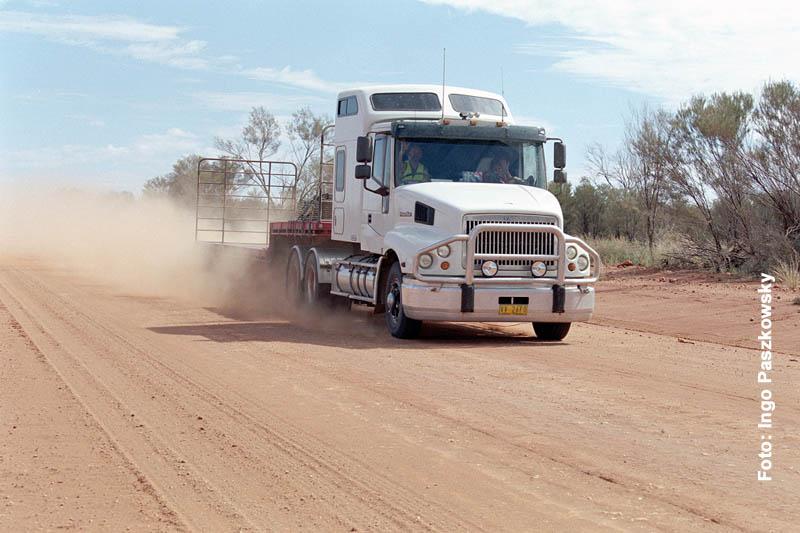 Im Outback wird gegrüßt. Foto: Ingo Paszkowsky