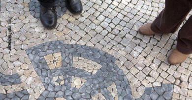 Es lohnt sich, in der Avenida da Liberdade die Pflastermosaike genauer anzusehen. Foto: Ingo Paszkowsky