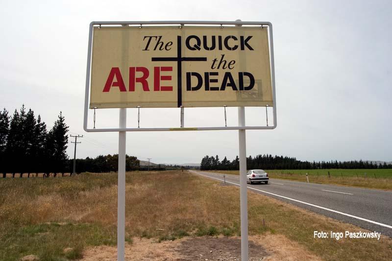Interessante, lustige Schilder und Verkehrszeichen: Immer, wenn ich ein deratiges Schild entdecke, zücke ich meine Kamera