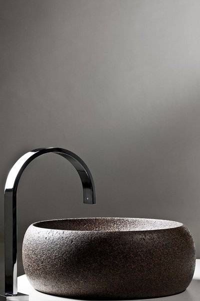 Kork-Waschbecken von Alzira Peixoto und Carlos Mendonça für Simple Forms Designs. Foto: APCOR