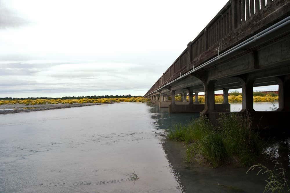 Mit 1750 Metern die längste Brücke Neuseelands. Foto: Ingo Paszkowsky