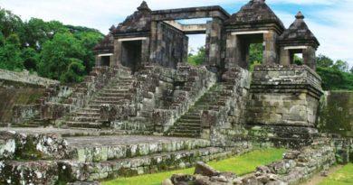Die Ruinen einer sagenhaften Palastanlage auf Java  Foto: Visit Indonesia Tourism Officer