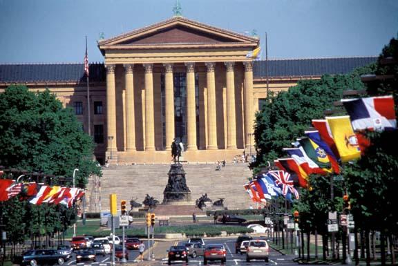 Museum of Art. Foto: Fremdenverkehrsbüro Pennsylvania