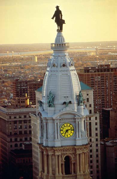City Hall. Foto: Fremdenverkehrsbüro Pennsylvania