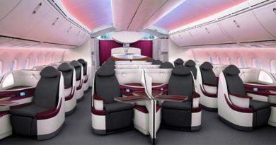 Qatar Airways stellt neue Sitze für den Dreamliner vor
