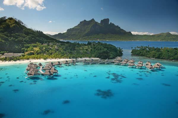Idylle auf Bora Bora. Foto: GREG LE BACON