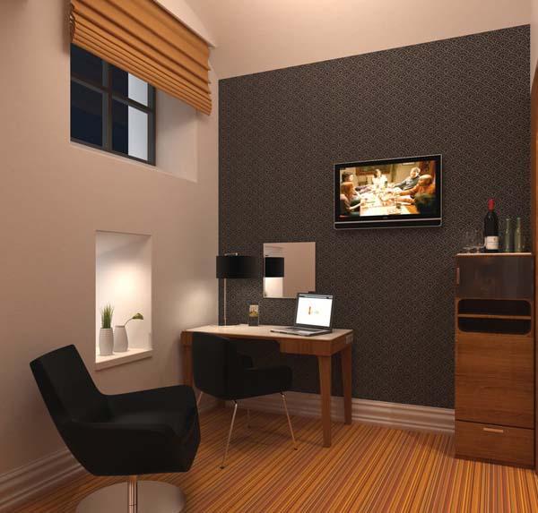 Hotelroom layout Katajanokka_ip