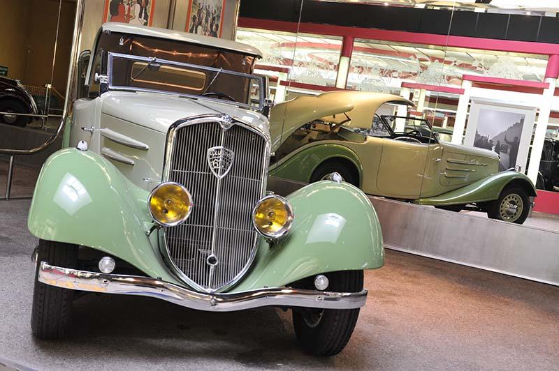 Pflicht für Autofans, das Peugeot-Museeum. Foto: Atout France