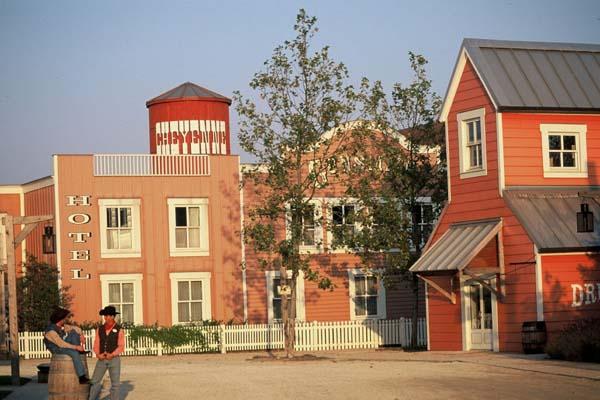 Der Wilde Westen ist im Disney's Hotel Cheyenne nicht weit. Foto: Disney