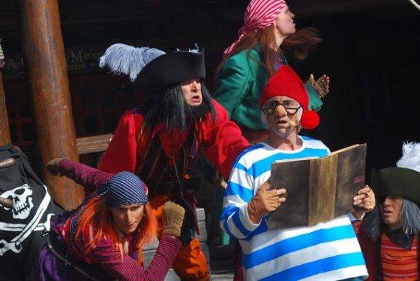 Piraten gehören natürlich zu Disneyland dazu. Foto: Disney