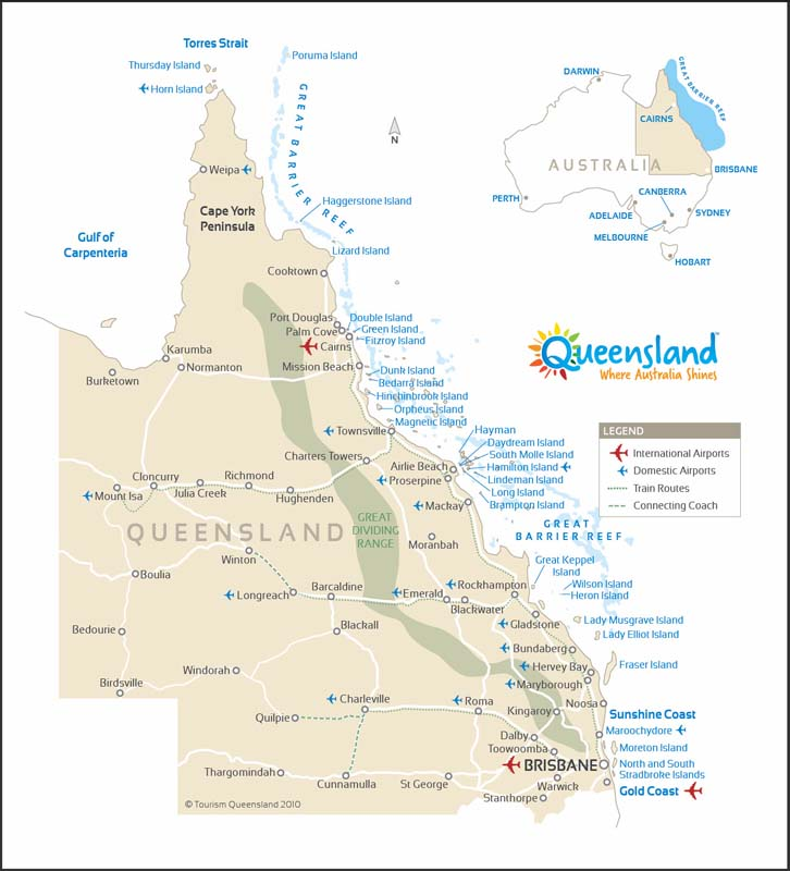 Queensland - The Sunshine State