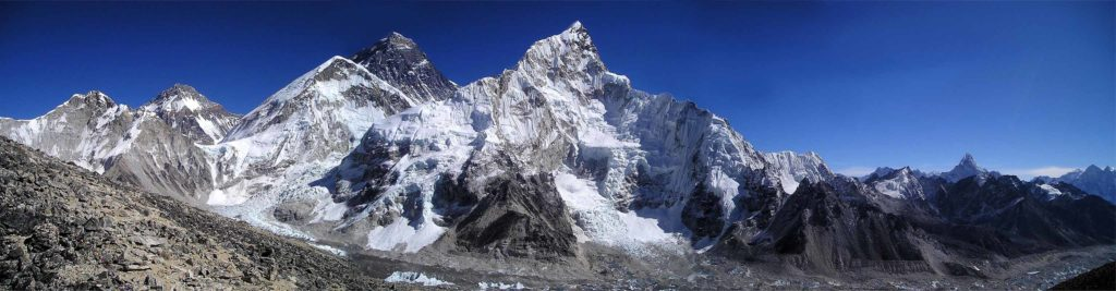 Panorama vom Mount Everest
