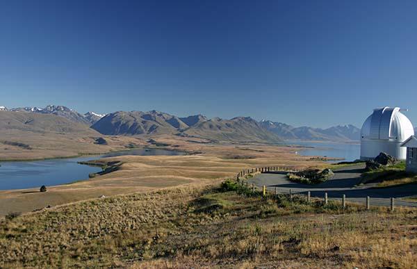 ...und am Tag. Foto: Tourism New Zealand