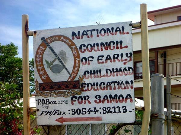 Viele soziale Einrichtungen in Samoa sind auf die Unterstützung durch Freiwillige angewiesen. Foto: Projects Abroad | Projekte weltweit