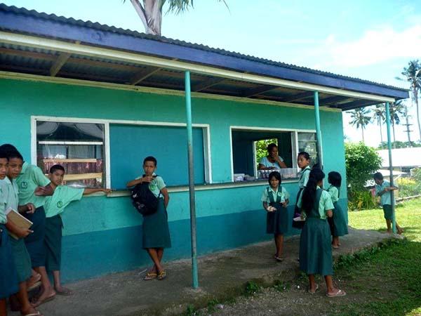 Der Inselstaat Samoa im Südpazifik, wird – wie auch Myanmar – von der UN zu den am wenigsten entwickelten Ländern gezählt. Foto: Projects Abroad | Projekte weltweit