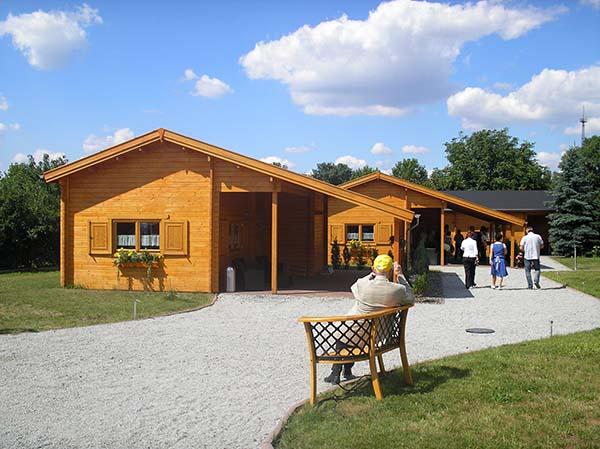 Neue Ferienwohnungen tragen zur gestiegenen Attraktivität der Region bei, beispielsweise die von Familie Ittmann in Klein Partwitz. Foto: Günter Knackfuss