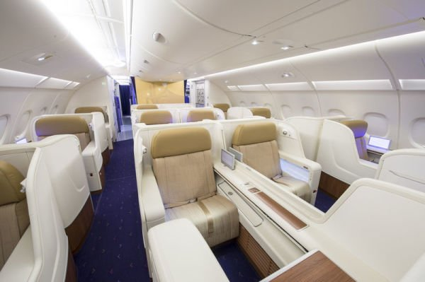 Roayal First Class in Thai Airways A380