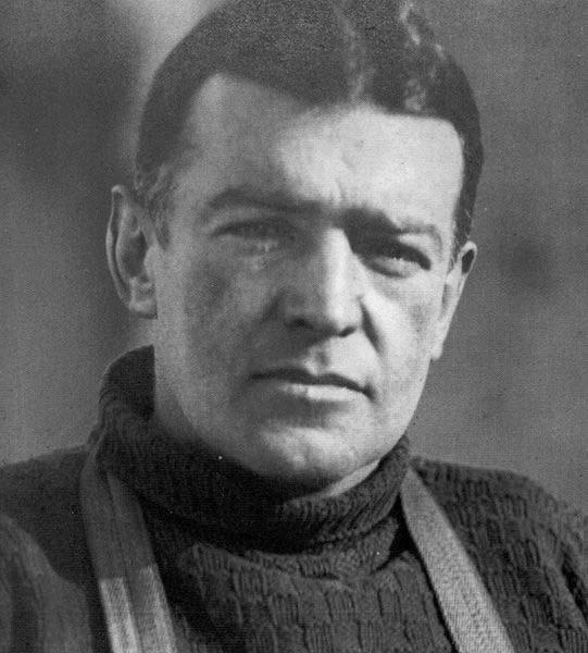 Sir Ernest Shackleton während der Endurance Expedition.   Foto: Frank Hurley
