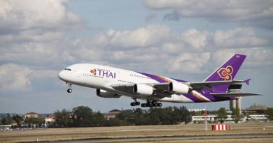 Thai Airways A380 - täglich von Frankfurt nach Bangkok. Foto: Thai Airways A380