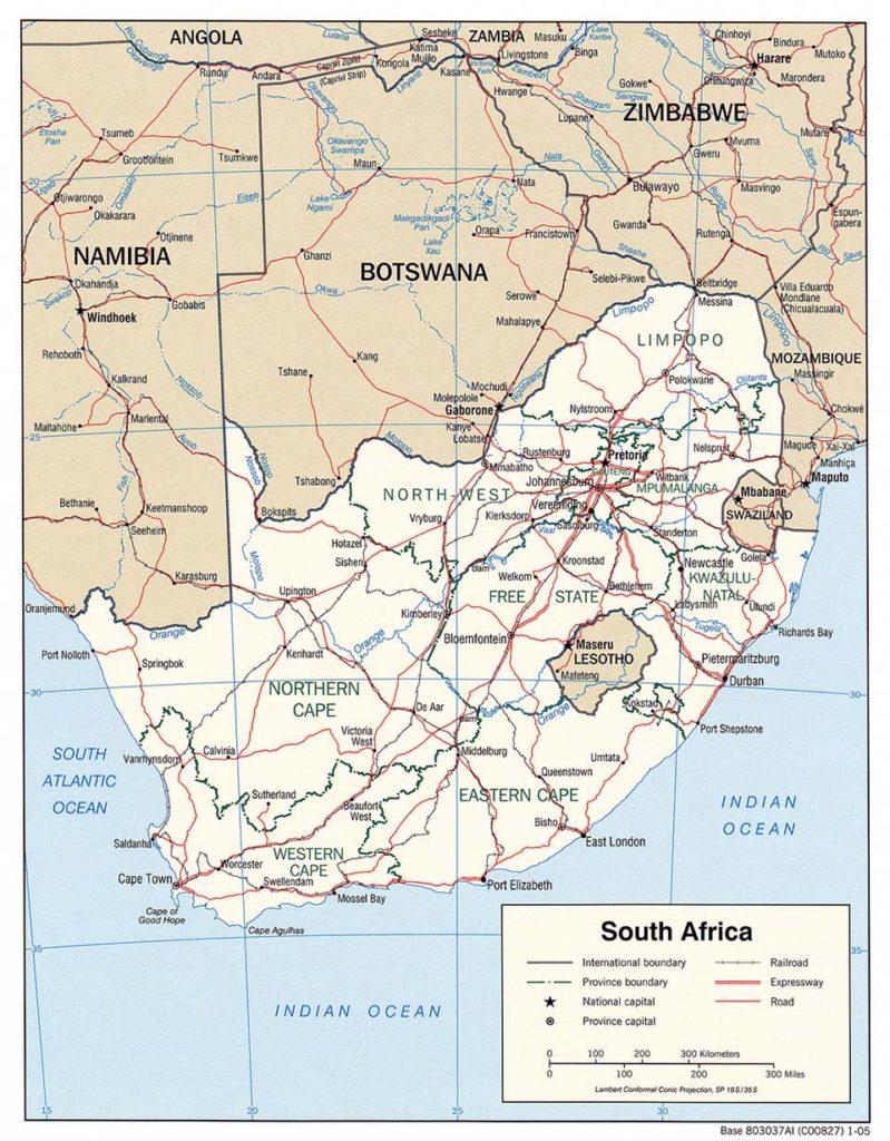 Karte gemeinfrei / Quelle: weltkarte.com