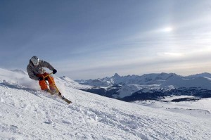 Snowbiking, Sunshine Village, Banff National Park Foto: Travel Alberta