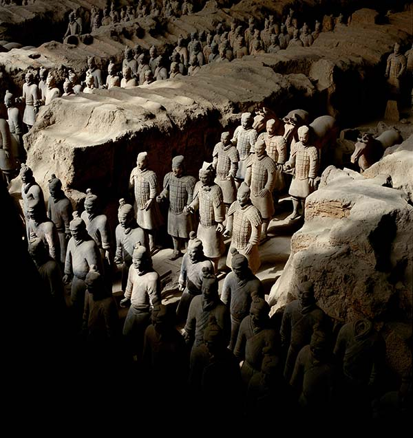 Terrakotta Armee in der Provinz Shanxi. Foto: FVA China