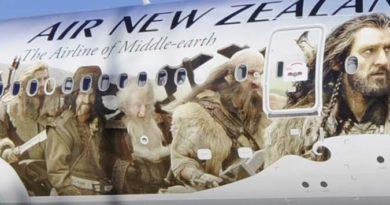 Air New Zealand ist die offizielle Airline für Mittelerde. Foto: Air New Zealand