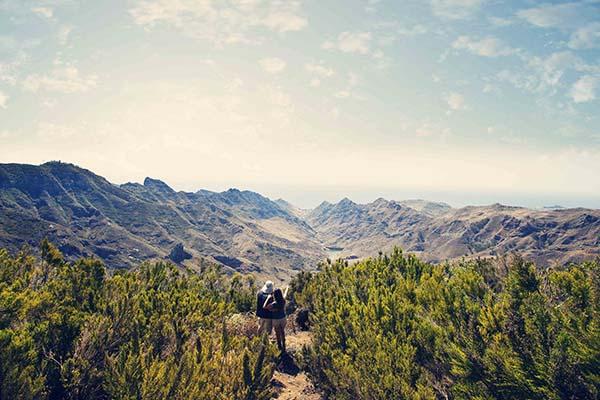 Entlang der verschiedenen Routen befinden sich Spazierwege, malerische Orte und zahlreiche Highlights Teneriffas. Foto: Fremdenverkehrsamt Teneriffa