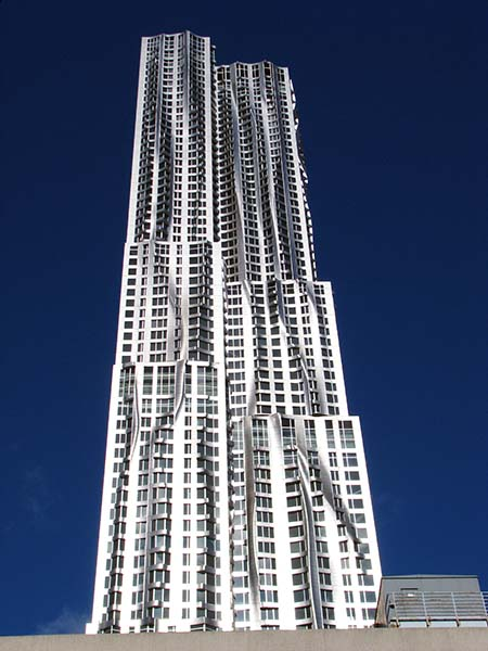 Der Sieger: 8 Spruce Street Copyright: Courtesy of Gehry Partners