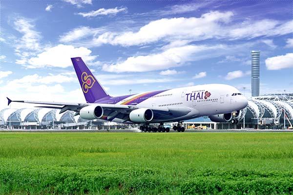 A380 - ab 16. Dezember 2012 auf der Strecke Frankfurt-Bangkok unterwegs. Foto: Thai Airways