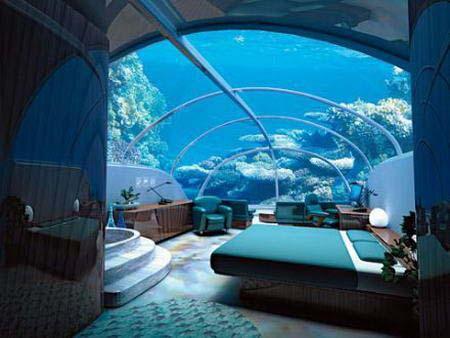 Kuriose Übernachtungsmöglichkeiten - im Eis, unter Wasser, in ...