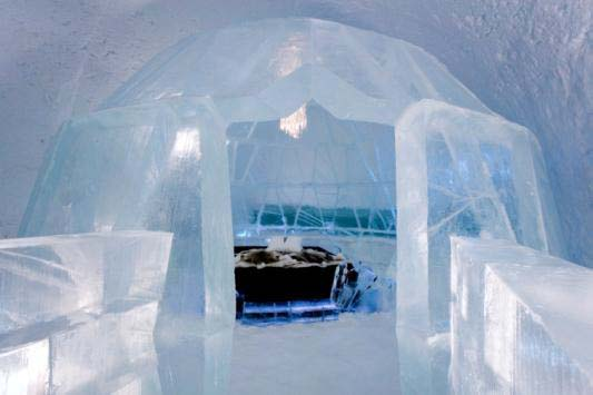 Ice Hotel Quebec Bathroom