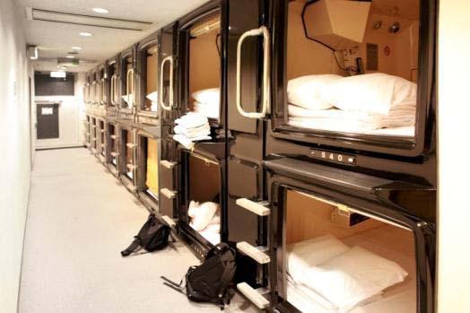 Nur für Männer - Übernachten auf engstem Raum. Foto: swoodoo.com