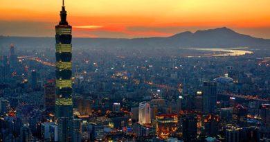 1. Taipei 101, hier sind derzeit die schnellsten Aufzüge der Welt im Einsatz. Copyright: Daniel Shih