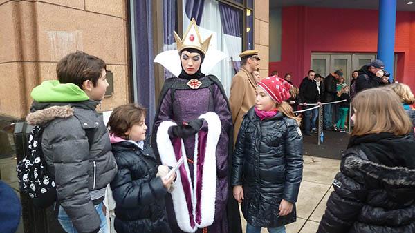 Diese Prinzessin schaut nicht freundlich drein. Foto: Sonja Thelen