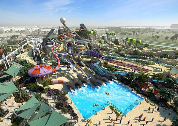 Am 24. Januar 2013 öffnet Yas Waterworld, einer der größten Wasserparks der Welt, auf Yas Island in Abu Dhabi. Foto: Abu Dhabi Tourism & Culture Authority (TCA Abu Dhabi)