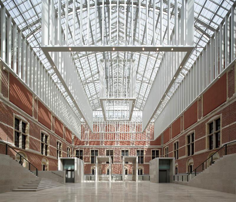 Neues Atrium, 2012. Foto: Pedro Pegenaute / Rijksmuseum