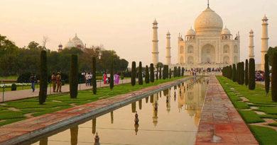 Das Taj Mahal. Foto: Tischler Reisen