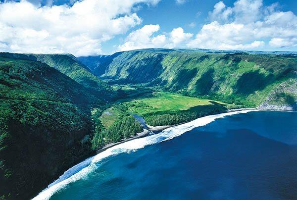 Waipio Valley auf Hawaii. Foto: Tischler Reisen