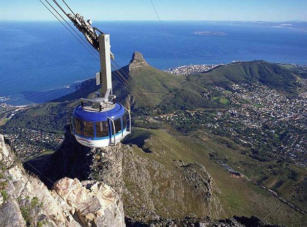 Kapstadt - Seilbahn auf den Tafelberg. Foto: www.dein-suedafrika.de