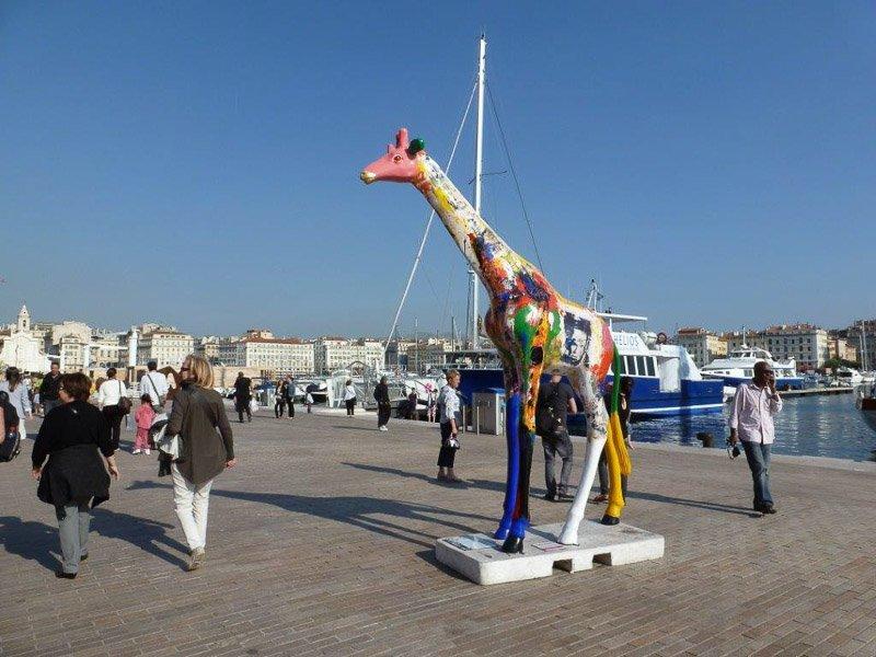 Am Vieux Port wurde eine neue Promenade angelegt. Foto: Perino