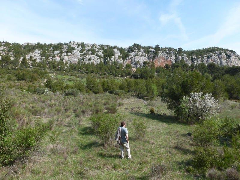 Wo früher Paul Cézanne malte, führt heute der GR 2013 entlang. Foto: Perino