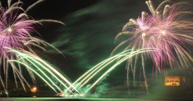 Leistungsschau der Pyrotechniker auf Malta