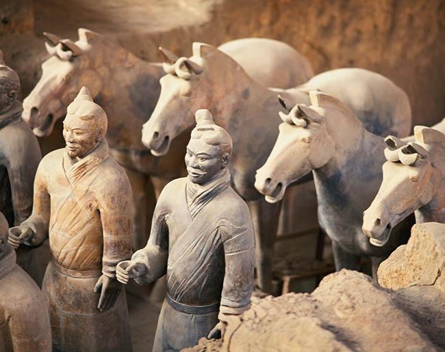 Terakotta-Armee in Xian. China ist nicht nur selbst ein beliebtes Reiseziel für EU-Bürger, viele Chinesen reisen auch gerne in die EU. Foto: FVA China