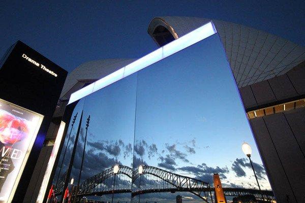 Mirror, Künstler: Franziska Henschke (Deutschland). Foto: Vivid Sydney