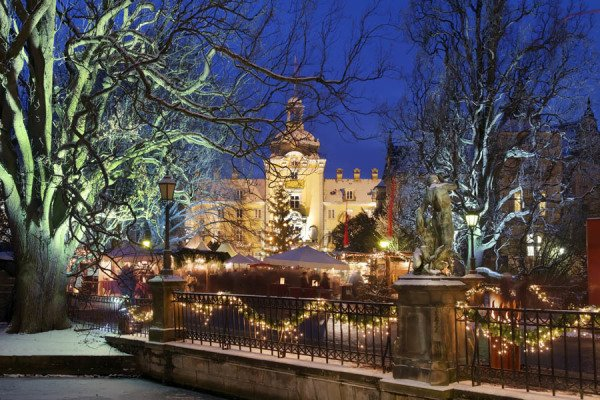Winterzauber bei den Schaumburg-Lippern. Foto: Weserbergland Tourismus