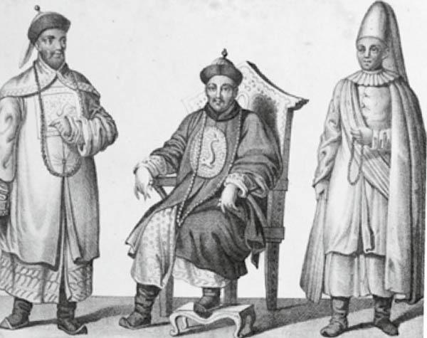 Der Konfuzianismus sah für jeden eine Rolle in der Gesellschaft vor, die dieser zu erfüllen hatte. Grafik: CAISSA Touristic