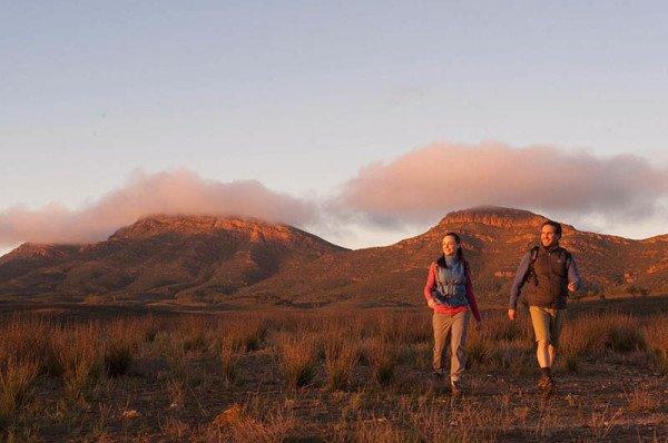 Die besten Trekkingpfade Südaustraliens führen durch die Flinders Ranges. Foto: South Australian Tourism Commission
