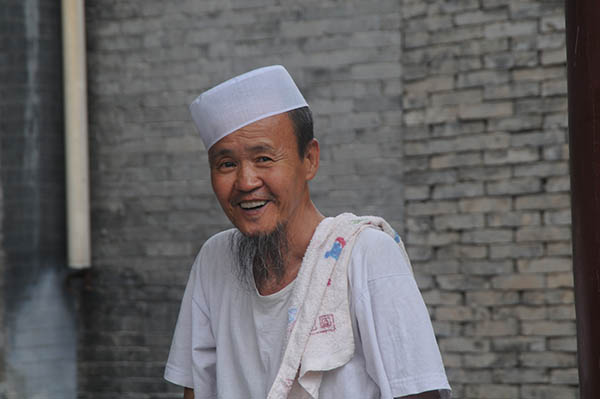 Moslemische Minderheit in Xi'an. Foto: CAISSA Touristic