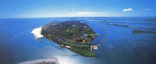 Die Insel Albarella ist privat geführt und steht unter Naturschutz. Foto: Albarella T.S.